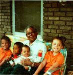 Grandpa and Grand children